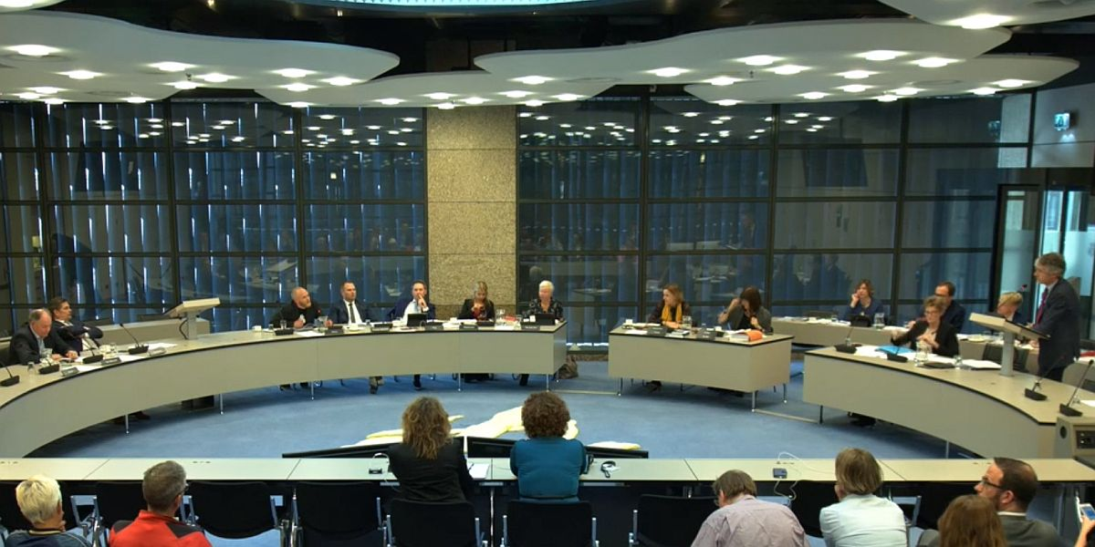 Commissiezaal in de Tweede Kamer