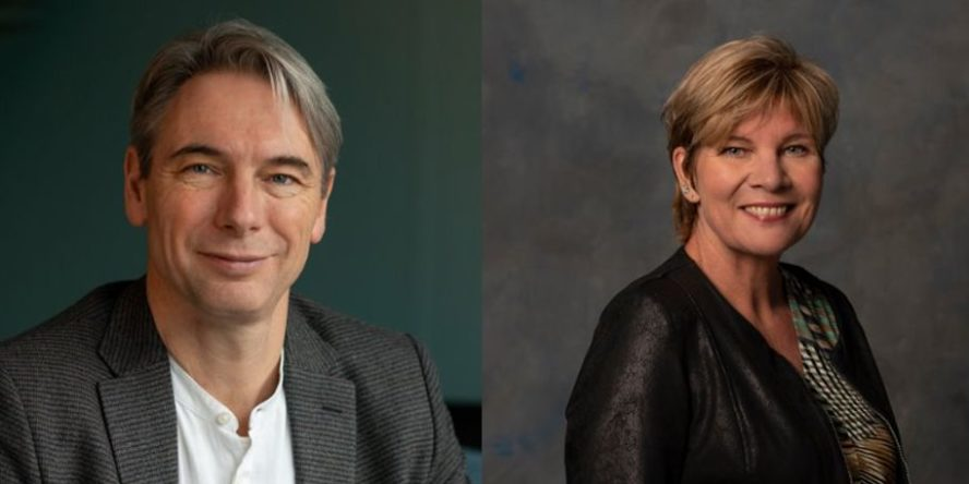 Arthur Elzinga and Kitty Jong are the candidates for the FNV presidency