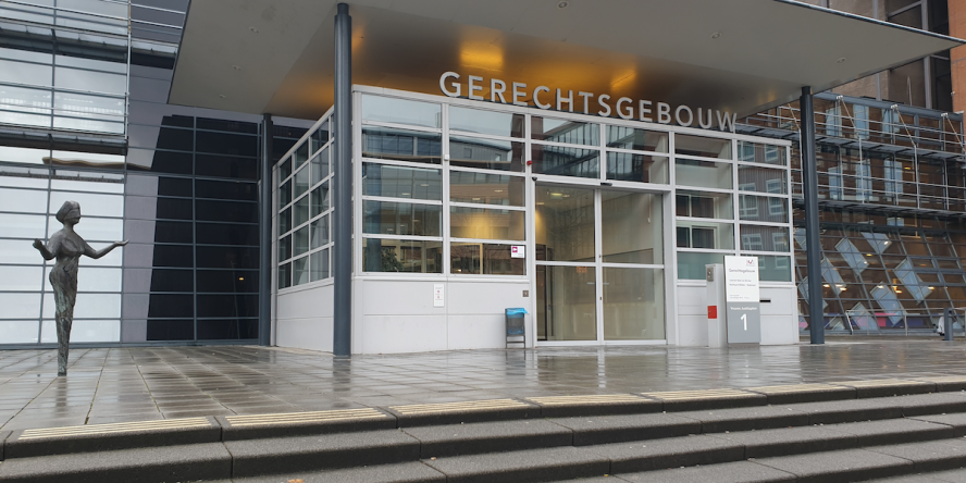 The court in Utrecht, where the case was heard at the end of 2019 about the inspection report on the Utrecht Svpo school